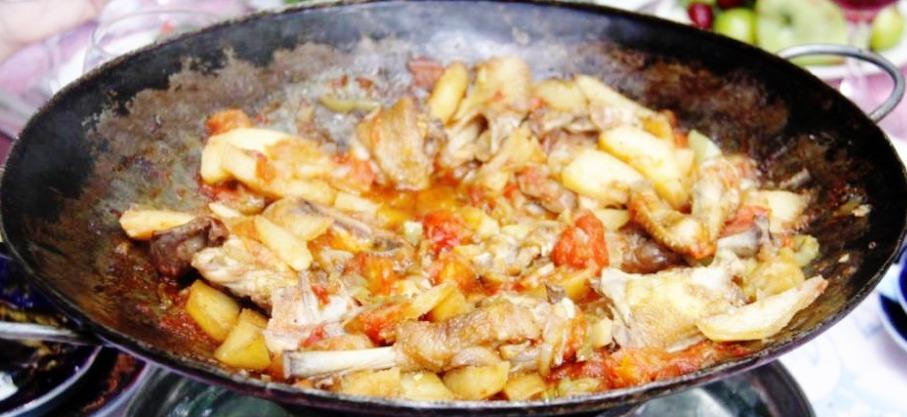 Рецепт саджа свинины фото